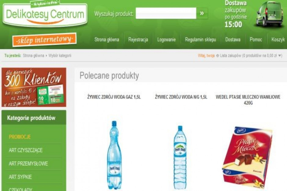 Delikatesy Centrum powiększają sieć i startują ze sklepem internetowym