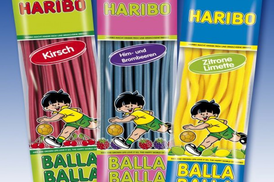 Haribo wprowadza nowe opakowania i smaki żelków Balla Balla