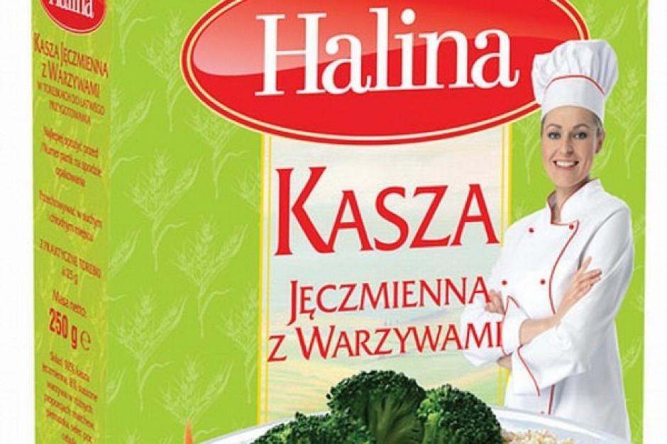 Kasza jęczmienna marki Halina