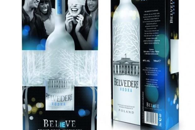 Świąteczny zestaw Belvedere Vodka