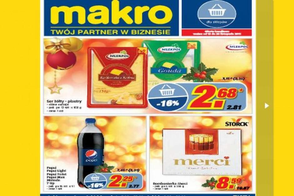 Makro wydaje najwięcej gazetek promocyjnych w kanale cash&carry