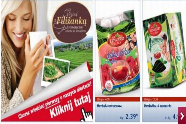 Herbaty owocowe i kawy w kapsułkach coraz chętniej promowane w gazetkach