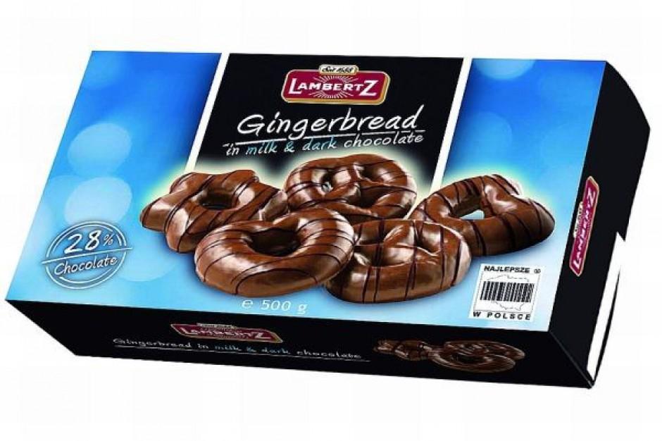 Pierniki w czekoladzie mlecznej od Lambertz