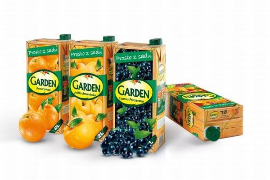 Na rynek wchodzą nowe opakowania napojów Garden