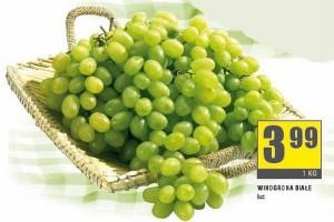 Winogrona, jabłka i cytrusy najczęściej promowane w gazetkach handlowych