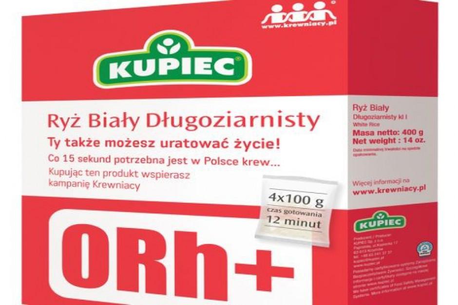 Limitowana seria opakowań produktów firmy Kupiec