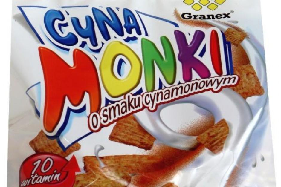 Płatki śniadaniowe Cynamonki firmy Granex