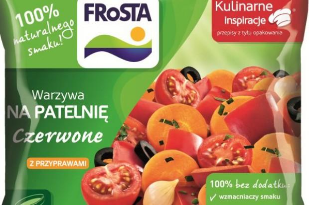 Kolorowe warzywa na patelnię marki Frosta w nowej odsłonie