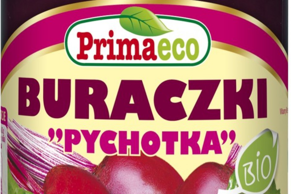 "Ekologiczne buraczki ""Pychotka"" BIO marki Primaeco"