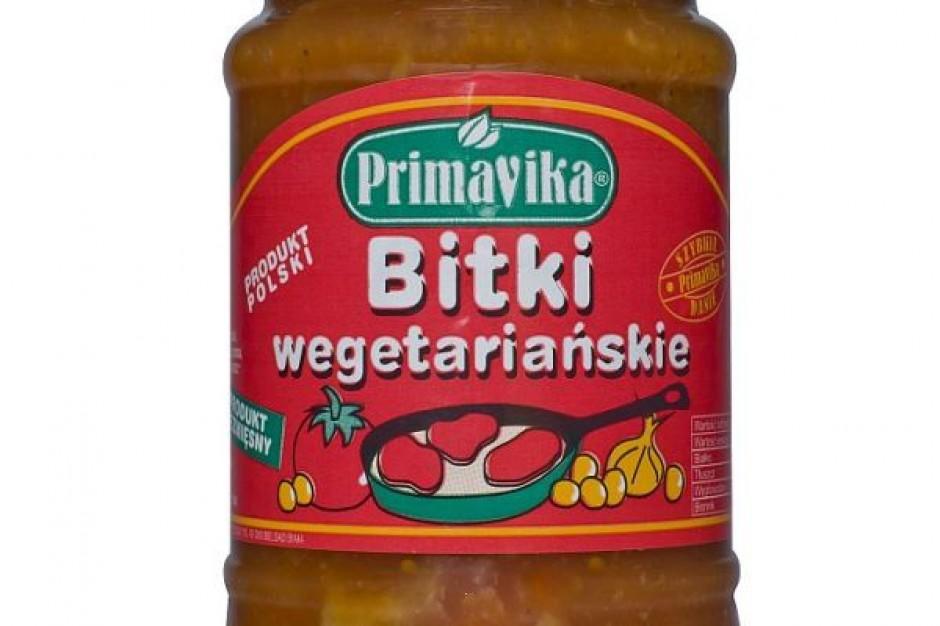 Bitki Wegetariańskie w sosie pomidorowym od Primavika
