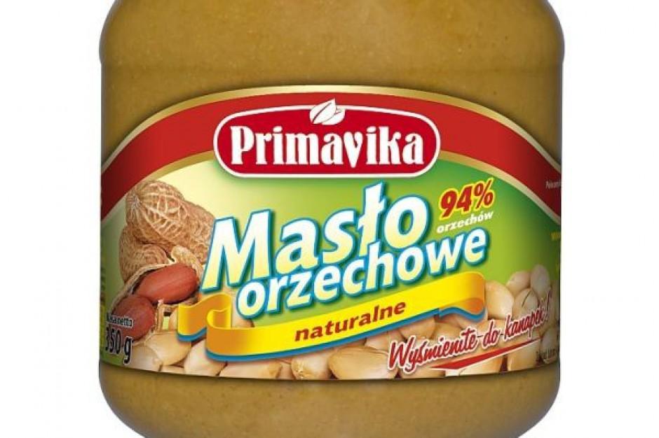 Klasyczne Masło Orzechowe Primavika