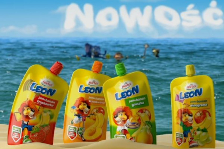 Kampania reklamowa soków Hortex Leon