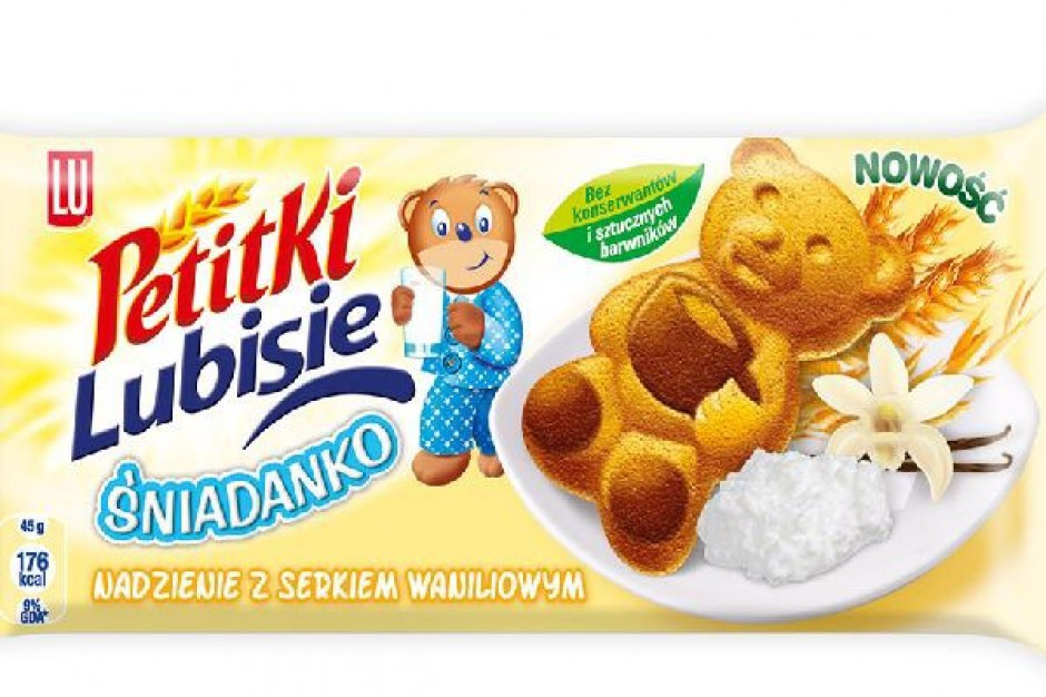 Kampania ciasteczek Lubisie Śniadanko