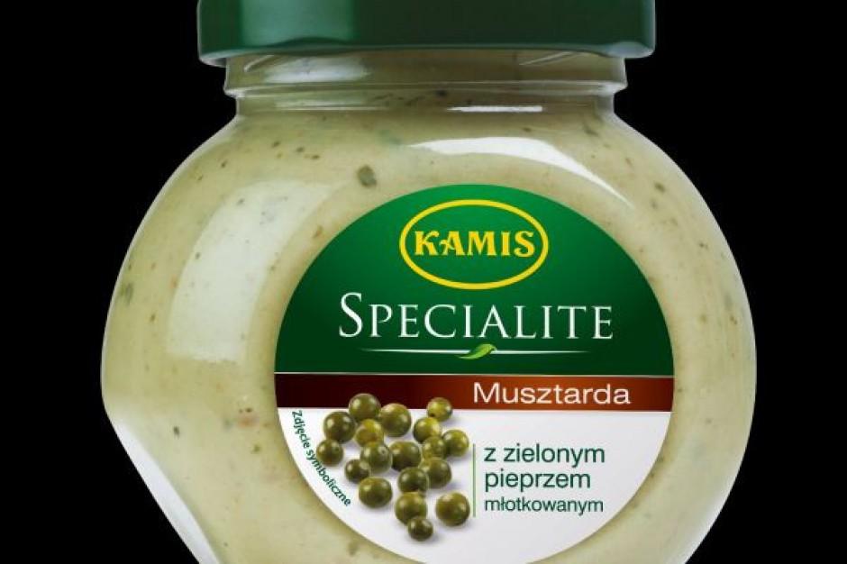 Nowa Musztarda Kamis z zielonym pieprzem młotkowanym