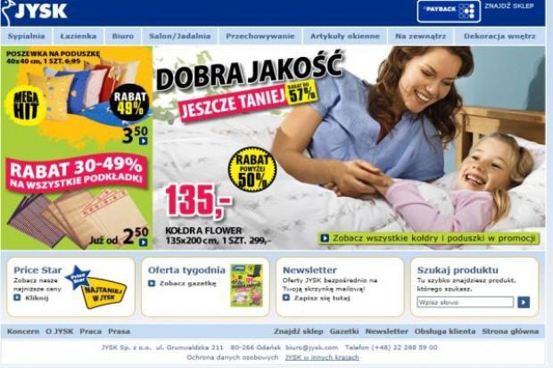 Pracownicy sieci Jysk prowadzą referendum strajkowe przez internet