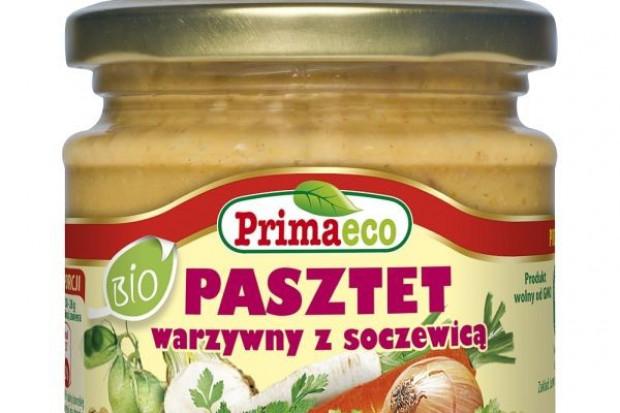 PRIMAECO - PASZTET WARZYWNY Z SOCZEWICĄ BIO 170 g