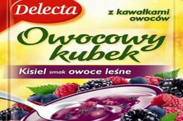 Delecta wprowadza nowe smaki kisieli Owocowy kubek