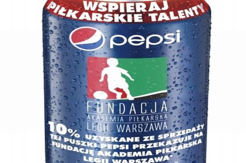 Pepsi partnerem Legii Warszawa