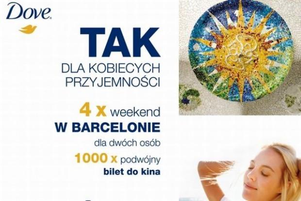 Weekend w Barcelonie nagrodą w promocji marki Dove