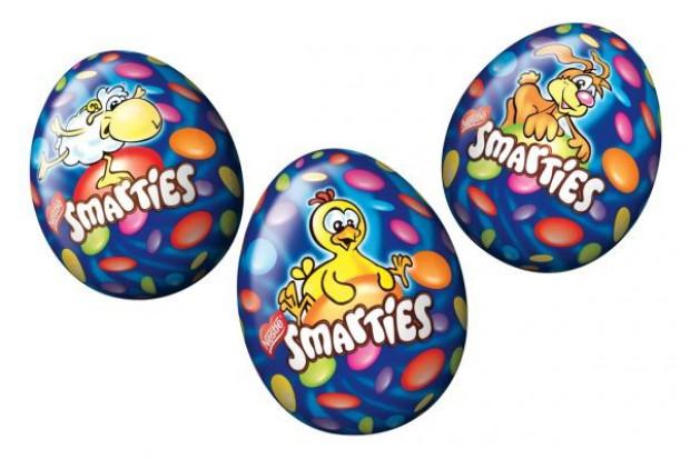 Wielkanocne słodycze Nestle