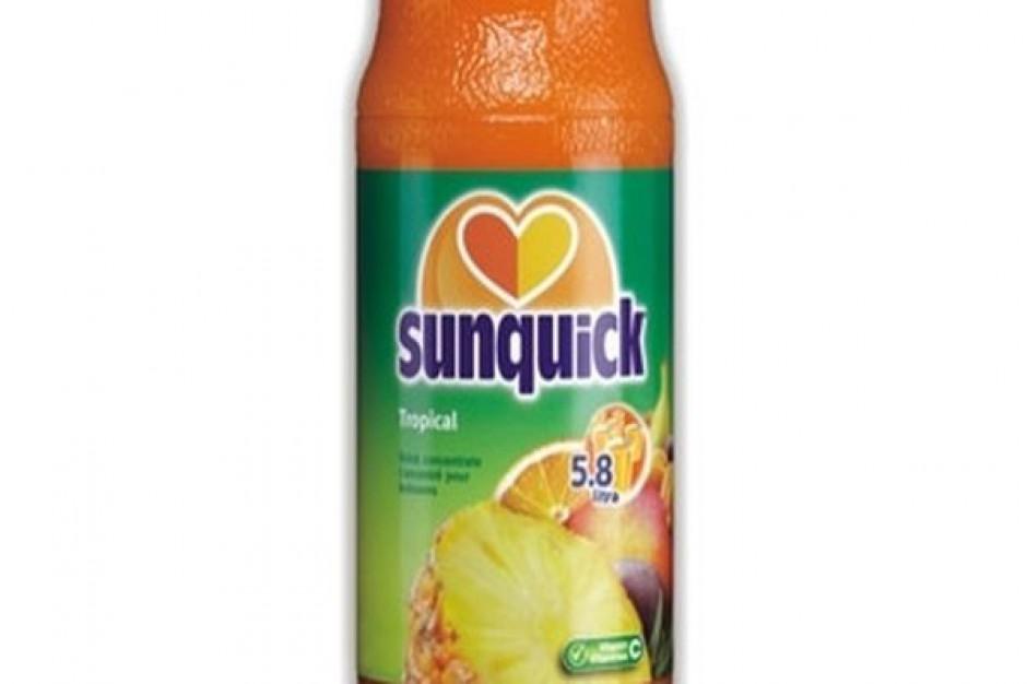 Nowy skoncentrowany napój Sunqiuck