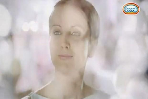 Katarzyna Zielińska w kampanii lodów Koral