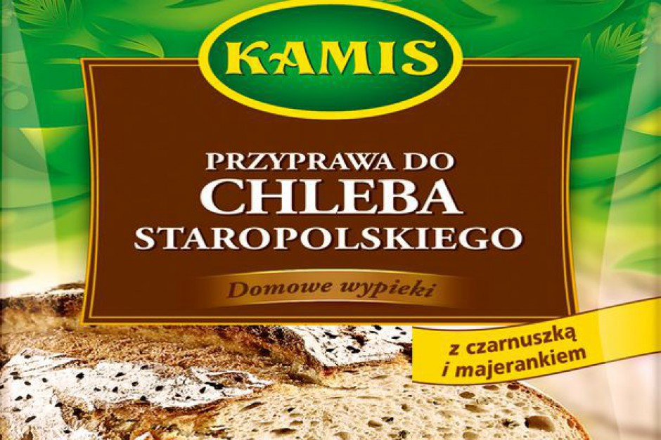 Przyprawy do chleba marki Kamis