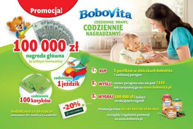 100 tys. zł główną nagrodą w promocji Bobovity