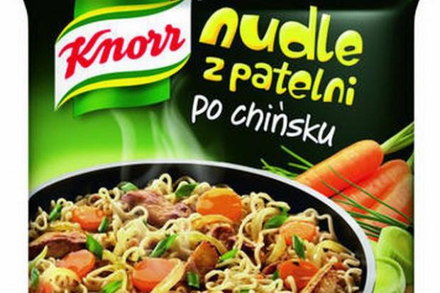 Nudle z patelni od marki Knorr