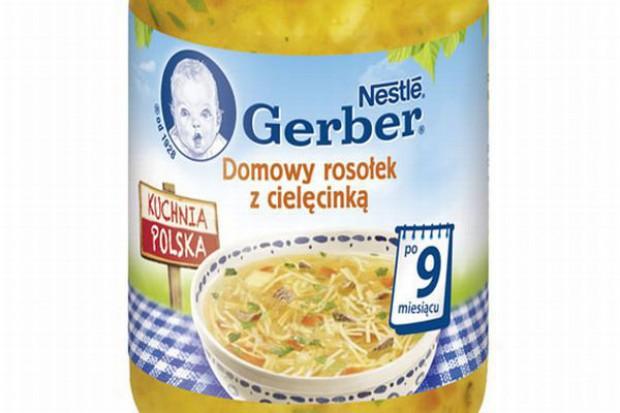 Nowa linia produktów dla najmłodszych - Gerber Kuchnia Polska