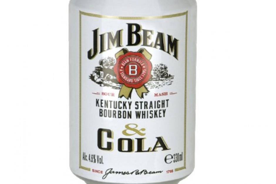 Jim Beam & Cola razem w puszce