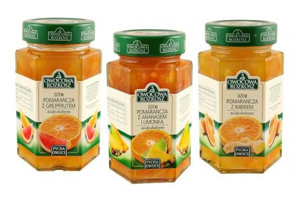 Nowe smaki dżemów Owocowa Rozkosz