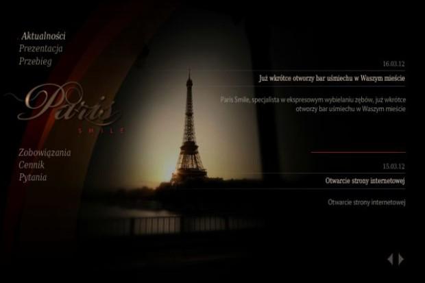 """Powstaje franczyzowa sieć """"barów uśmiechu"""" Paris Smile"""