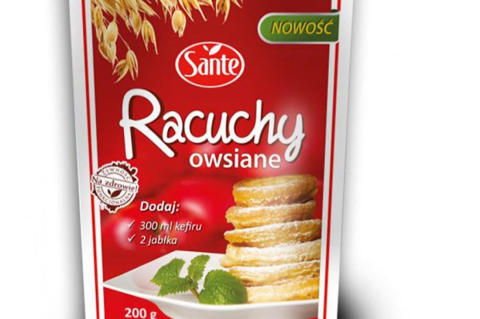 Racuchy owsiane - nowy produkt Sante