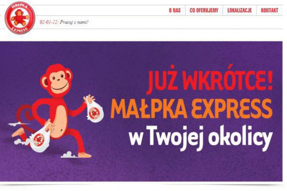 Sieć Małpka Express wychodzi poza pasaże Czerowna Torebka