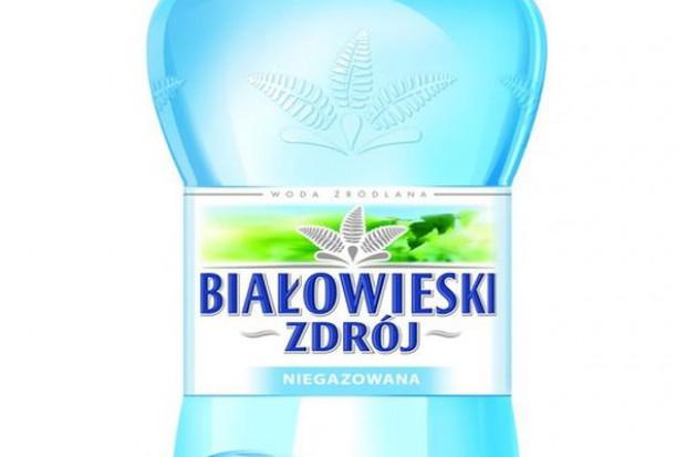 Hoop wprowadza na rynek wodę Białowieski Zdrój
