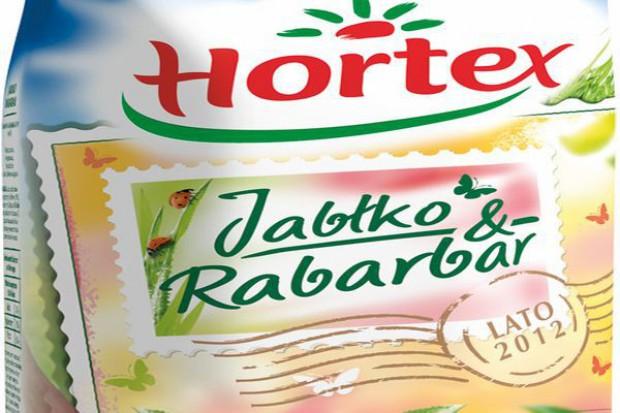 """Nowe napoje Hortex """"Letnie Smaki 2012"""" - Zielone Jabłuszka i Jabłko Rabarbar"""