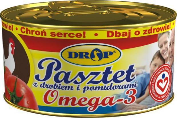 Pasztet z drobiem i pomidorami DROP Omega-3