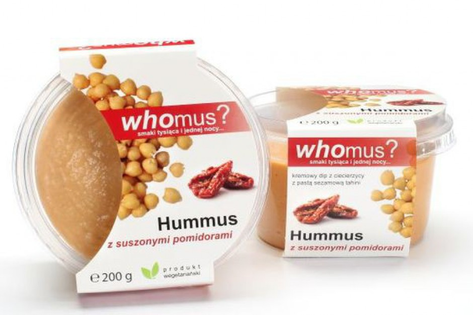 Whomus? wprowadza kolejne smaki pasty humus