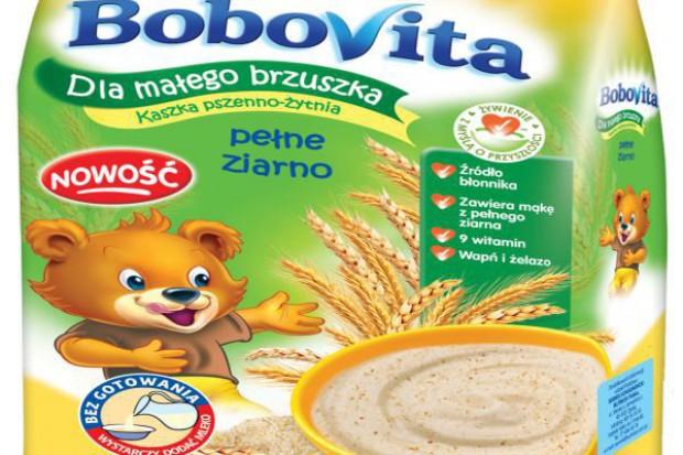 Pełne ziarno w nowej kaszce BoboVita