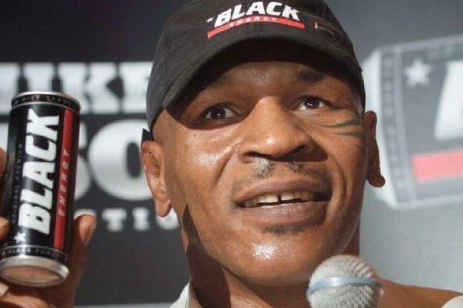 Mike Tyson w reklamie napoju energetycznego Black