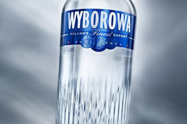 Wyborowa w nowej butelce