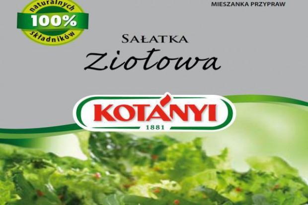 Sałatka ziołowa od Kotányi