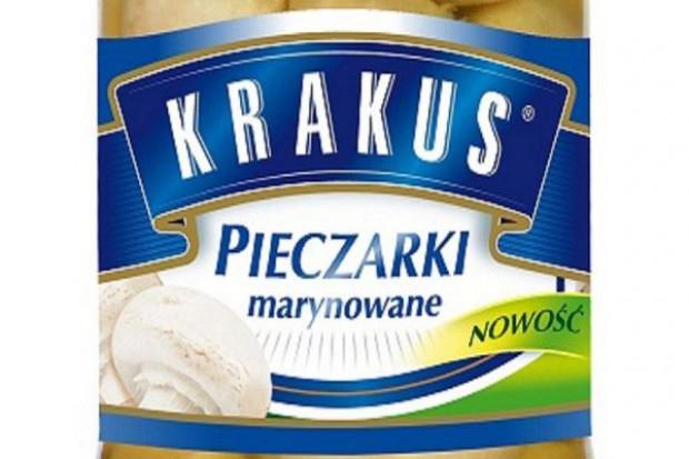 Pieczarki marynowane Krakus w ofercie Agros Nova