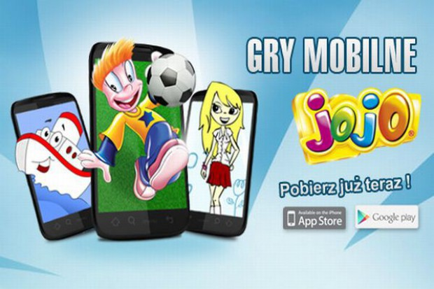 Mobilne gry dla dzieci od marki Jojo
