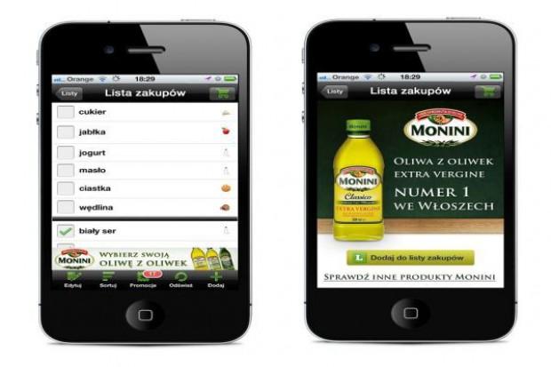 Mobilna kampania produktów Monini