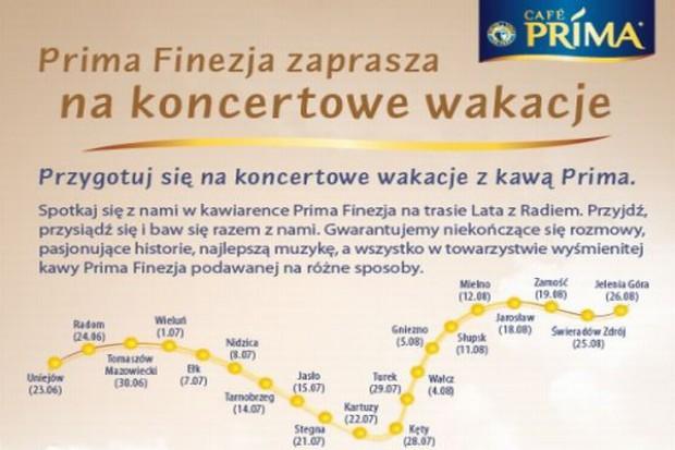 Prima Finezja promowana podczas koncertów Lato z Radiem