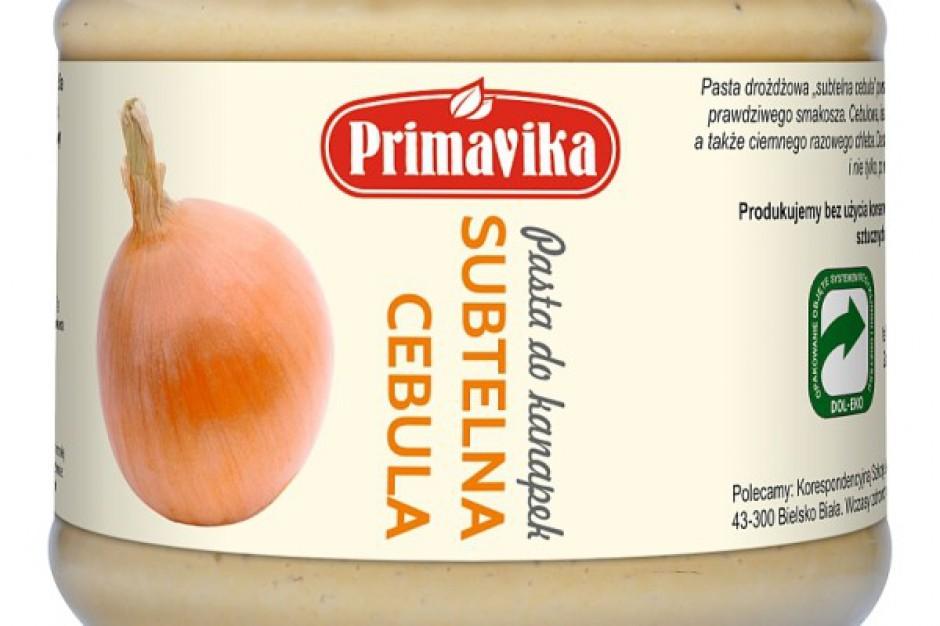 Nowa pozycja w ofercie Primaviki - pasta do chleba Subtelna Cebulka