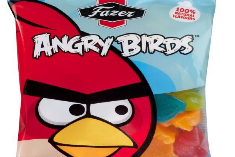 Fazer wprowadza słodycze Angry Birds