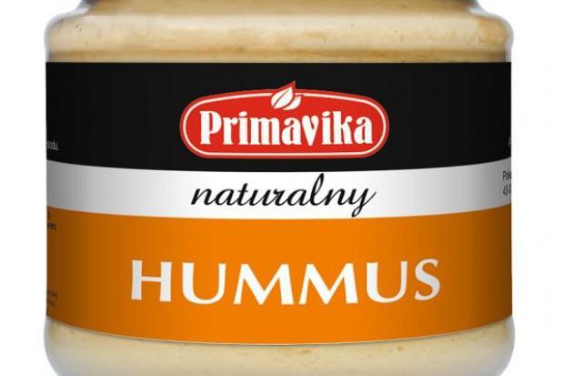 Nowe pozycje w ofercie Primaviki - Hummus naturalny